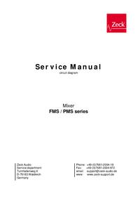 Cirquit diagramu Zeck FMS series