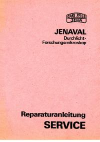 Serviceanleitung Zeiss Jenaval