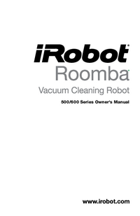 User Manual irobot Roomba 500 Series