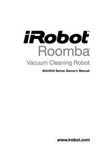 Руководство пользователя irobot Roomba 500 Series